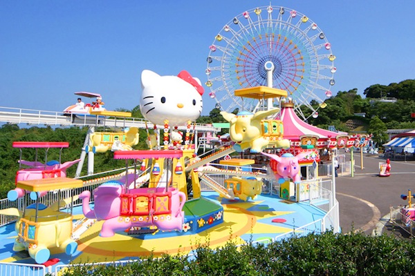 Harmonyland Parque de Hello Kitty en Japón