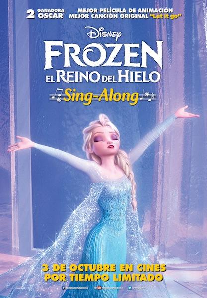 Frozen el reino del hielo Sing Along