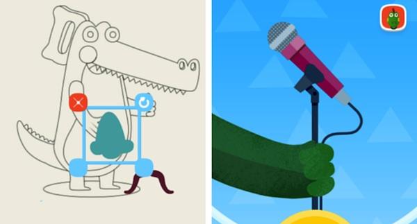 Modo niños dispone de múltiples apps infantiles