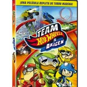 Team Hot Wheels el Origen DVD