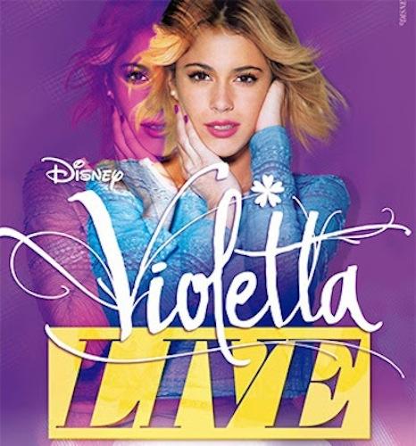Violetta Live conciertos en España