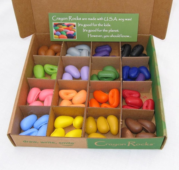 Caja de Crayon Rocks