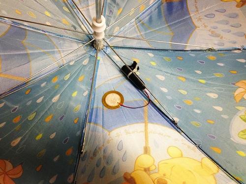 paraguas inteligente para predecir el tiempo