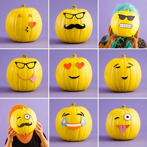 Calabazas divertidas para Halloween