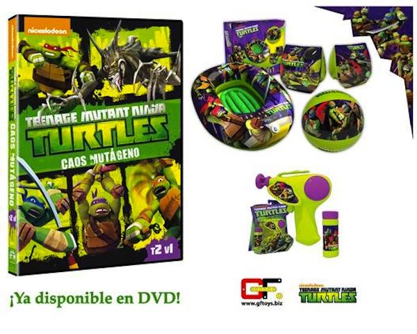 Juguetes de Las Tortugas Ninja de GF Toys