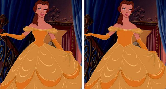 Bella imagen de Disney e imagen de BuzzFeed/Loryn Brantz/Walt Disney Studios