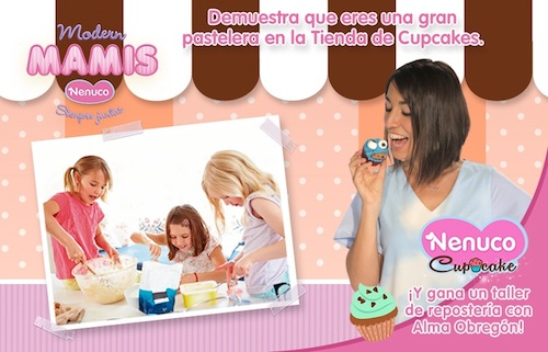 Nenuco Tienda de Cupcake Alma Obregon