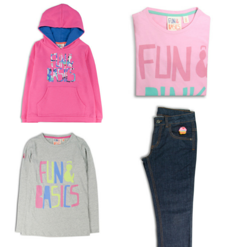moda infantil de Fun and Basics