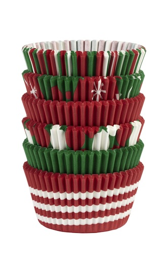 moldes para cupcakes navidad