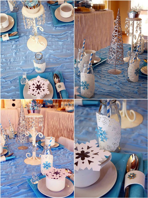 Decoración Fiesta de Disney Frozen