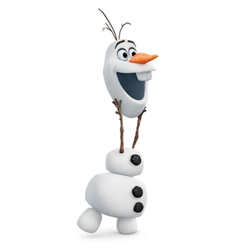 Manualidad de Disney Frozen Olaf