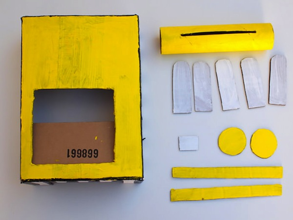 Pintar caja registradora casera