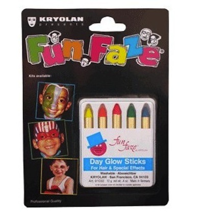 maquillaje en crema para carnaval kryola