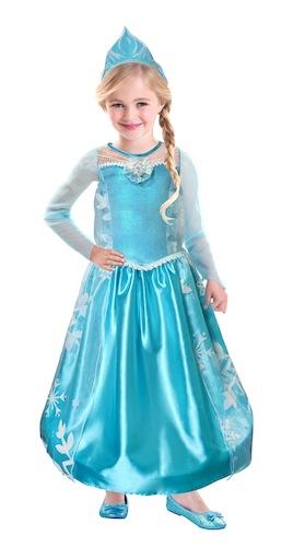 Disfraz Elsa con corona