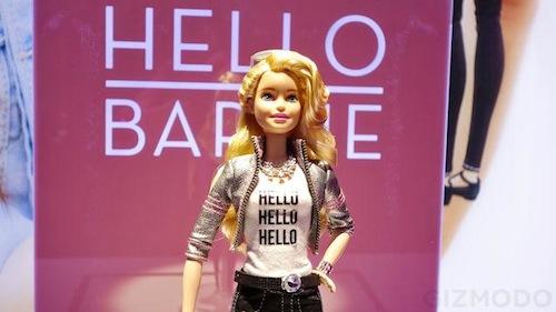 Hello Barbie, nueva muñeca que habla con frases pregrabadas