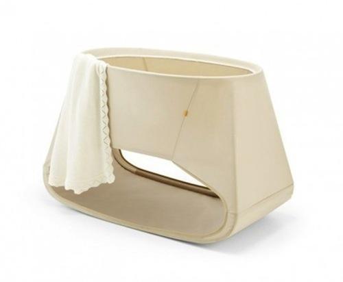 Minicuna stokke un diseño original para bebés