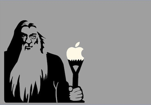 Pegatina de Gandalf para Mac