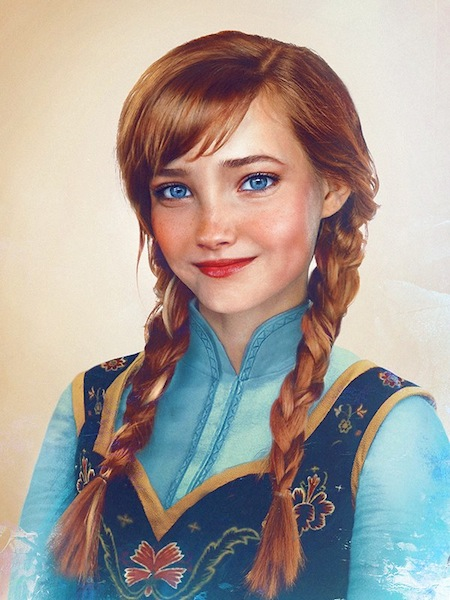 Ana de Frozen