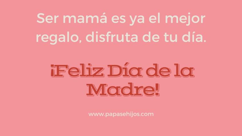 Felicitacion día de la madre