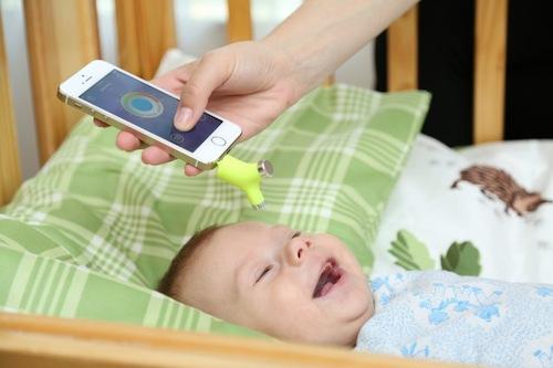 termometro bebes inteligente app