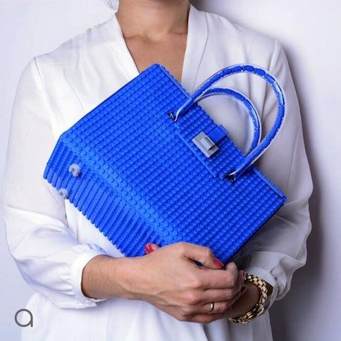 bolso bloque lego azul