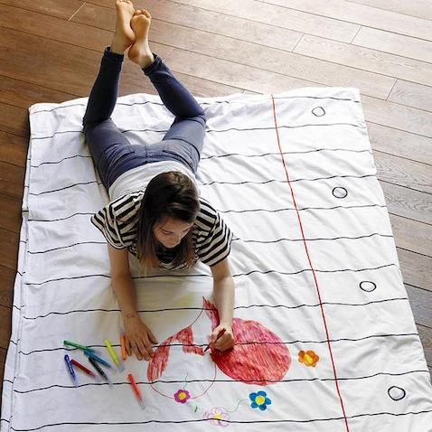 Funda nórdica infantil Doodle