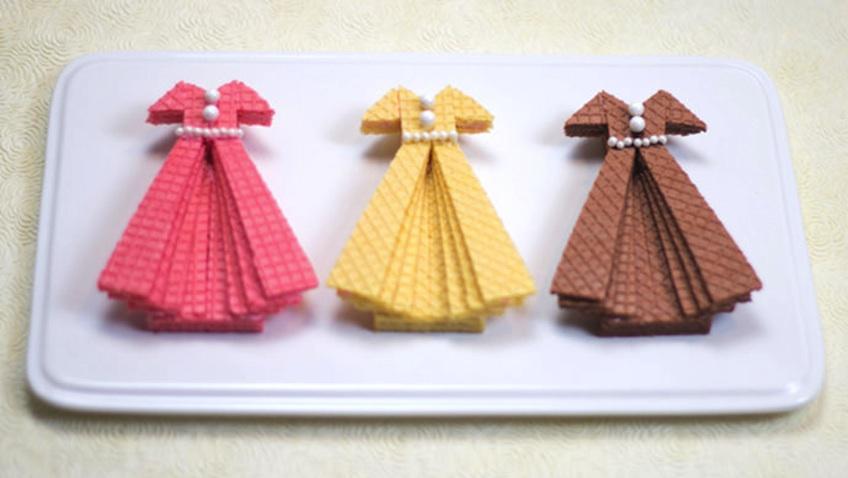 galletas vestido comunion