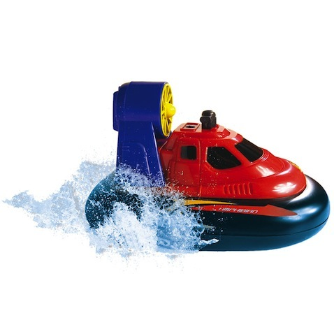 juguete piscina vehiculo anfibio radio control Hovercraft