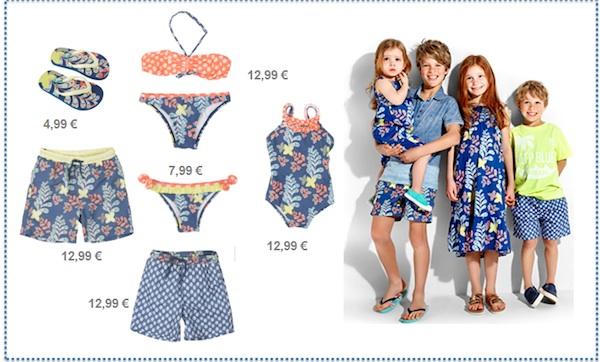 ropa infantil verano conjuntada