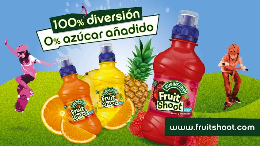 zumo de frutas sin azucar fruit shoot