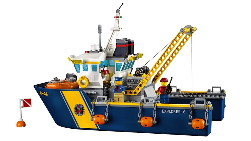 LEGO City Set Buque de Exploración Submarina