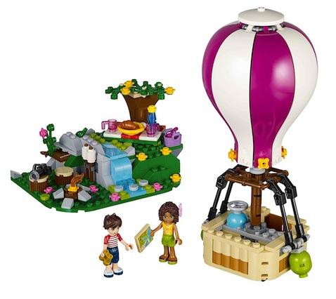 Lego Friends set de construcciones El Globo de Heartlake