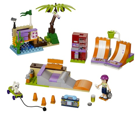 Lego Friends El Parque de Patinaje de Heartlake