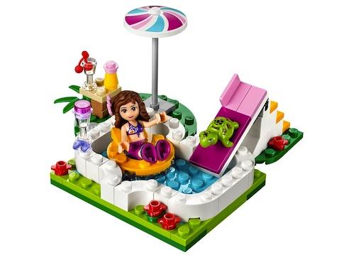 La piscina en el Jardín de Olivia