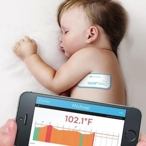 Termómetro inteligente para bebés