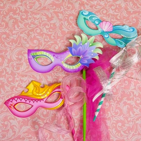 manualidad infantil mascaras princesas disney