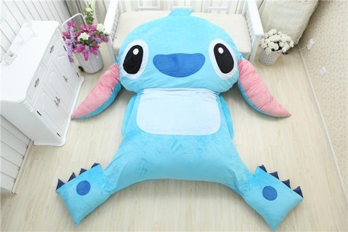cama infantil original stitch