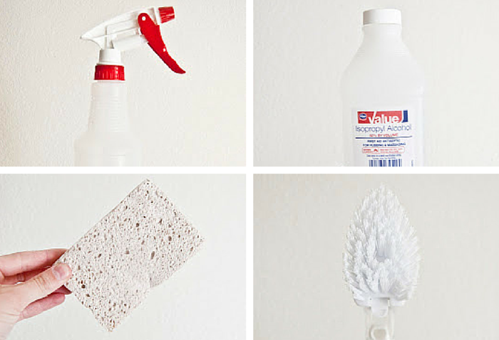 limpiar manchas microfibra