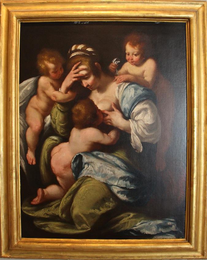 pintura lactancia materna