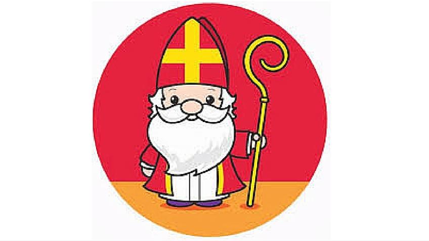 Sinterklaas viene de España y su gorro lleva los colores de la bandera española