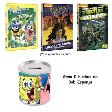 Sorteo de huchas Bob Esponja