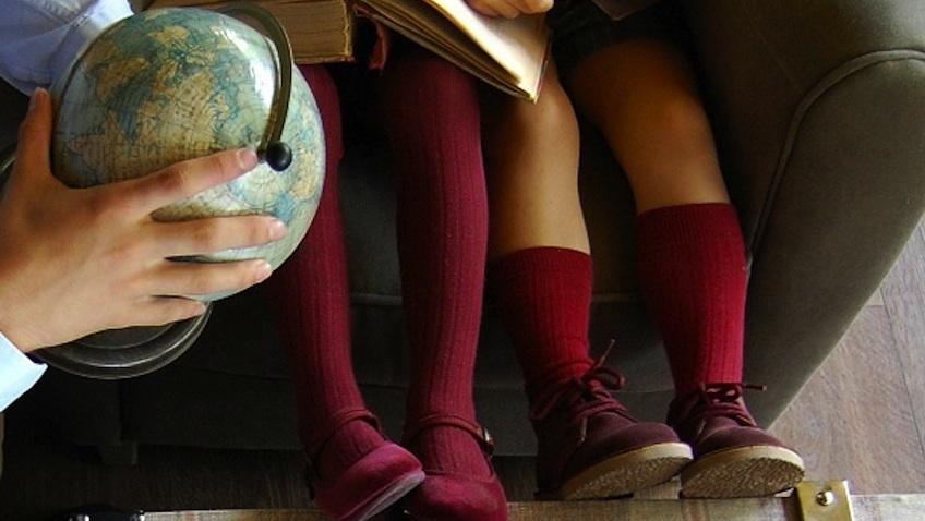 calzado escolar niños