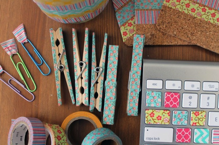 decorar washi tape