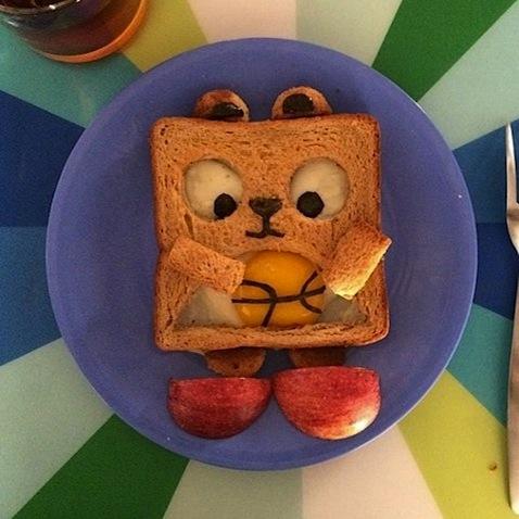 Desayuno infantil vuelta al cole