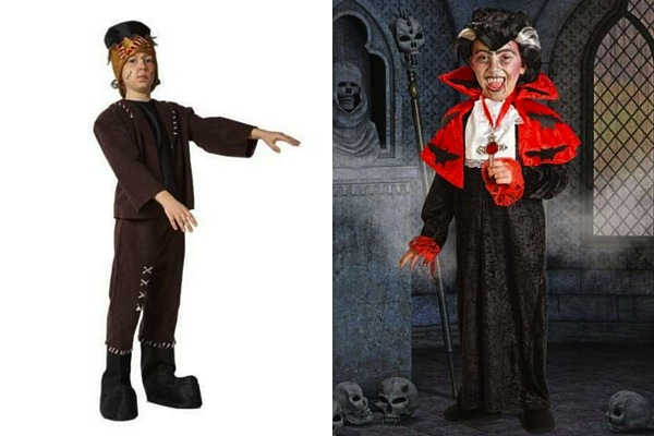 disfraz infantil frankestein vampiro