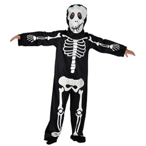 Disfraz esqueleto infantil para Halloween