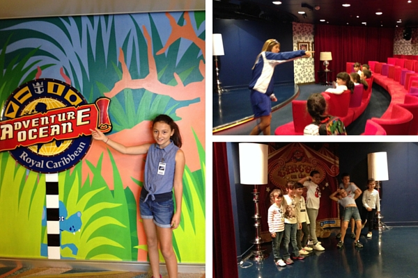 royal caribbean crucero actividades infantiles
