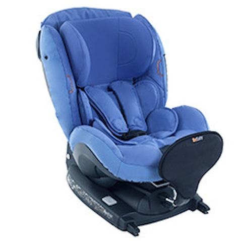 silla infantil coche be safe izi kid azul isize
