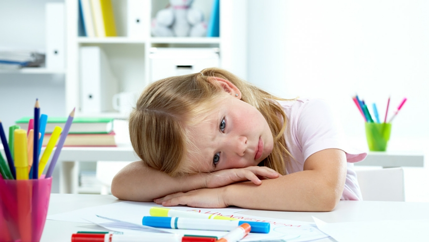 Exceso de deberes niños