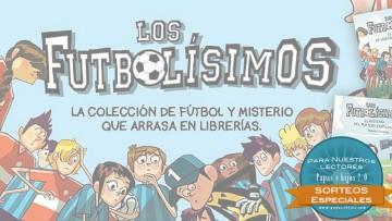 ¡Sorteo del nuevo libro de los futbolísimos!